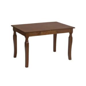 Разтегателна трапезарна маса в цвят меден дъб-отстрани