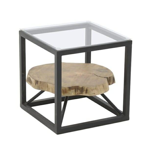 Декоративна маса за кафе като куб