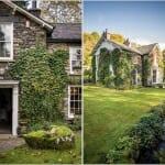 Английска къща със зелен двор