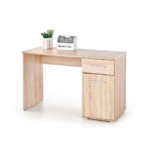 Бюро в цвят дъб сонома с едно чекмедже и един шкаф
