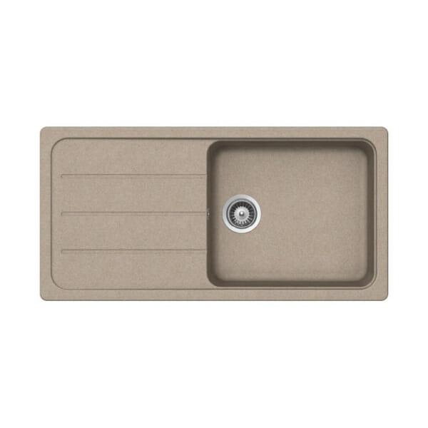 Гранитна мивка за кухня SCHOCK Formhaus D100L-цвят sabbia