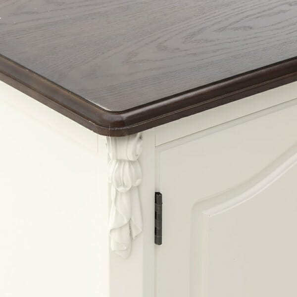 Дървен ТВ шкаф в класически стил Classic - отблизо