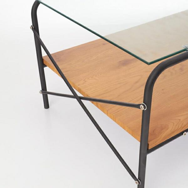 Холна маса със стъклен плот Кристина-тблизо
