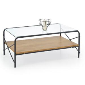Холна маса със стъклен плот Кристина