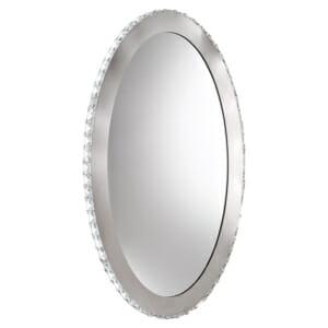Елипсовидно LED огледало с кристали серия Toneria