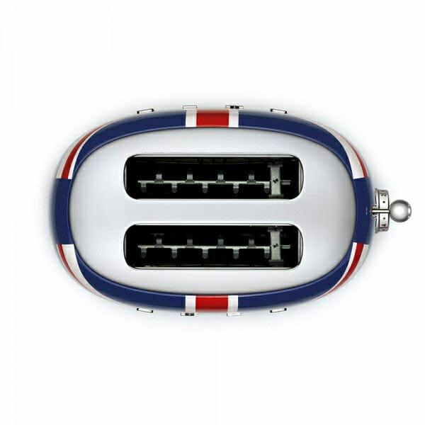 Тостер с английското знаме SMEG-снимка отгоре