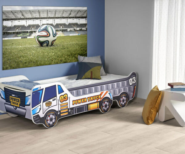 Детско легло камион с опция за промяна на дължината