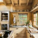Кухня от естествено дърво