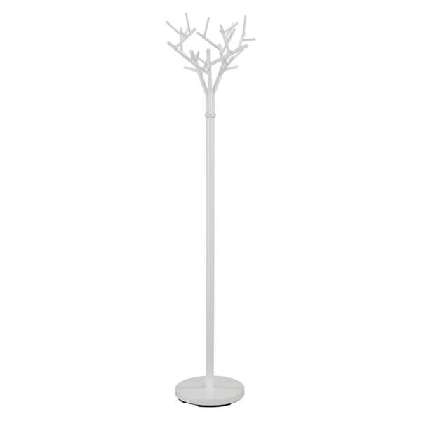 Закачалка за антре като дърво с клони - бяла