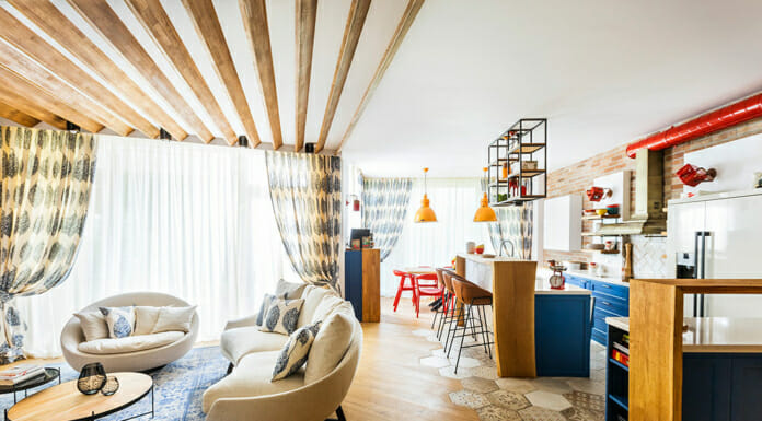 Креативна визия и функционален дизайн в апартамент D-1