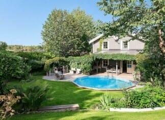 Двуетажна семейна къща с голям двор и басейн (1)