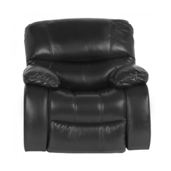 Кожен фотьойл с релакс механизъм и люлееща функция в два цвята