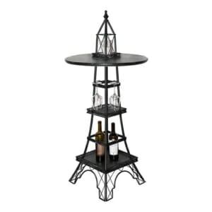 Метален домашен бар като Айфелова кула