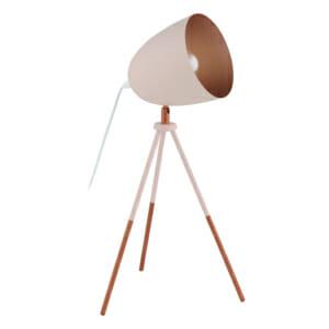 Триножна настолна лампа Eglo серия Chester P в розово