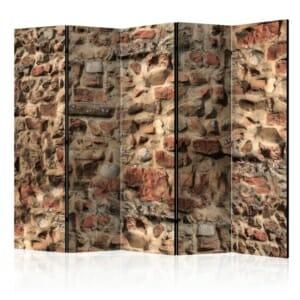 Интериорен параван имитиращ старинна каменна стена