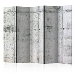 Двулицев разделител за стая Concrete Wall-5 крила