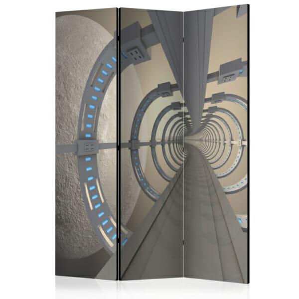 """Двустранен параван за стая """"Космически тунел"""" - 3 крила"""