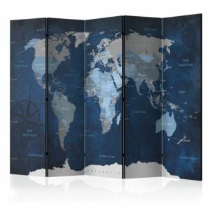 Голям интериорен параван Dark Blue World