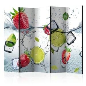 Петкрилен параван Fruit Cocktail