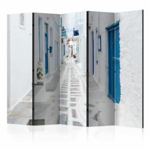 Двулицев интериорен параван Greek Dream Island-5 крила