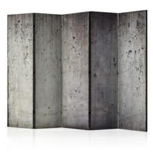Голям декоративен параван имитиращ бетонна стена