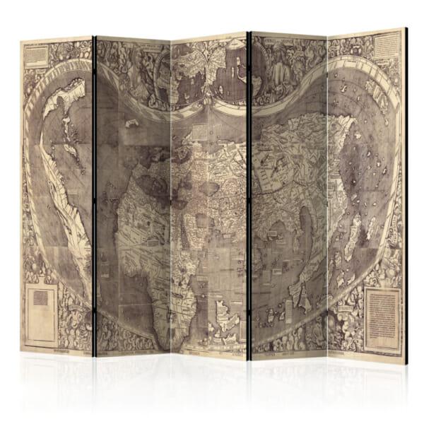Декоративен параван Map Amerigo Vespucci!