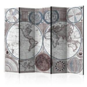 Сгъваем параван Terraqueous Globe