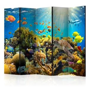 """Сгъваем параван за стая """"Подводен свят"""""""
