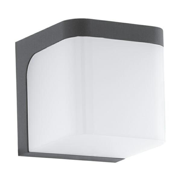 Фасаден LED аплик с форма на куб серия Jorba