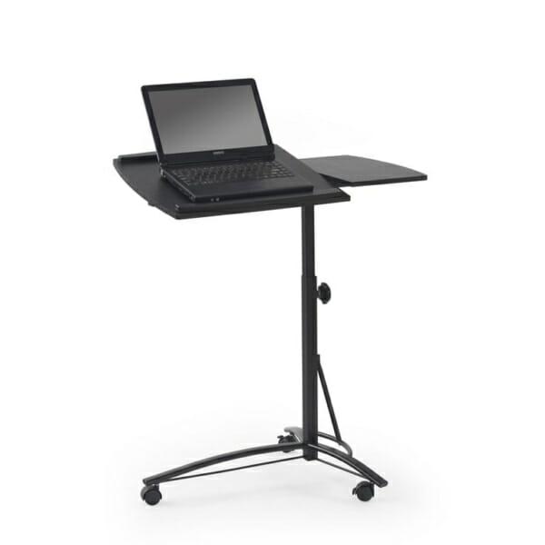 Черно работно бюро на колелца с повдигащ механизъм