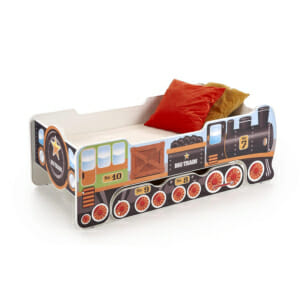 Детсо легло с матрак като локомотивче