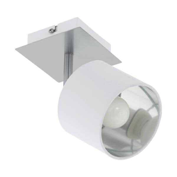 Елегантно LED спот осветление в бяло и сребро Valbiano