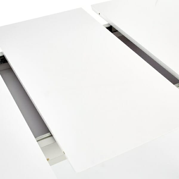 Функционална разтегателна маса за трапезария в бяло - плотове
