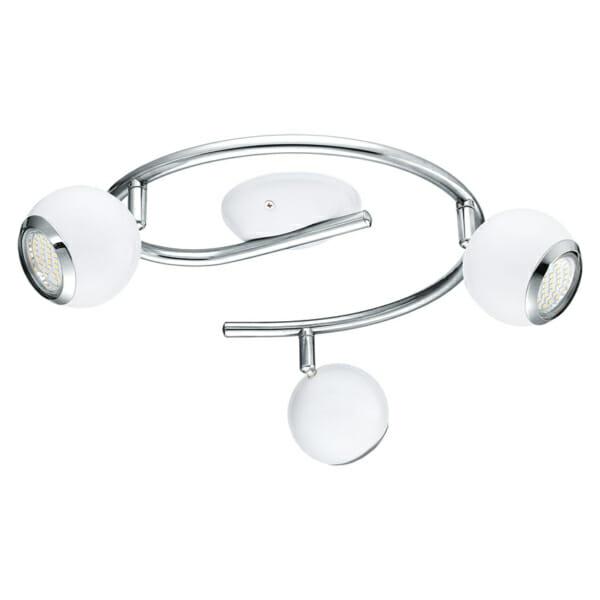 Интериорно LED спот осветление Bimeda с вариации - бяло, тройка