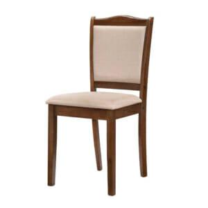 Класически дървен стол с текстилна дамаска - 2 варианта