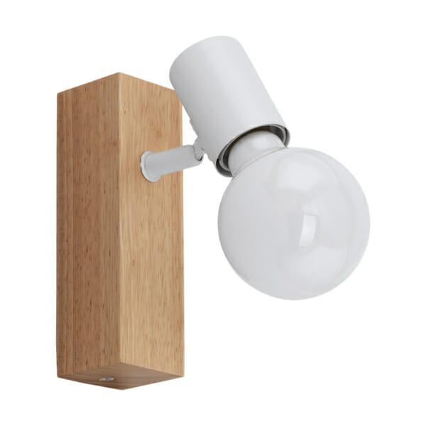 LED спот осветително тяло от дърво и стомана Townshend 3