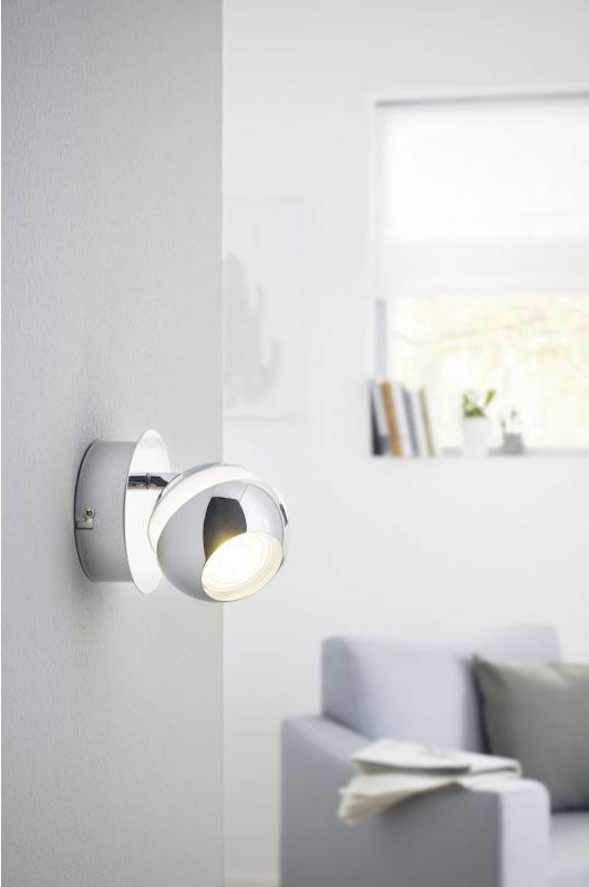 Модерно LED спот осветление от стомана Nocito 1 - интериор