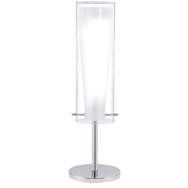 Настолна лампа от стъкло и стомана Pinto