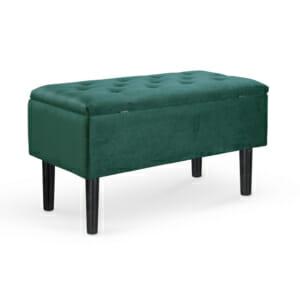 Пейка с ракла от каучук и текстил (3 цвята) - тъмнозелен