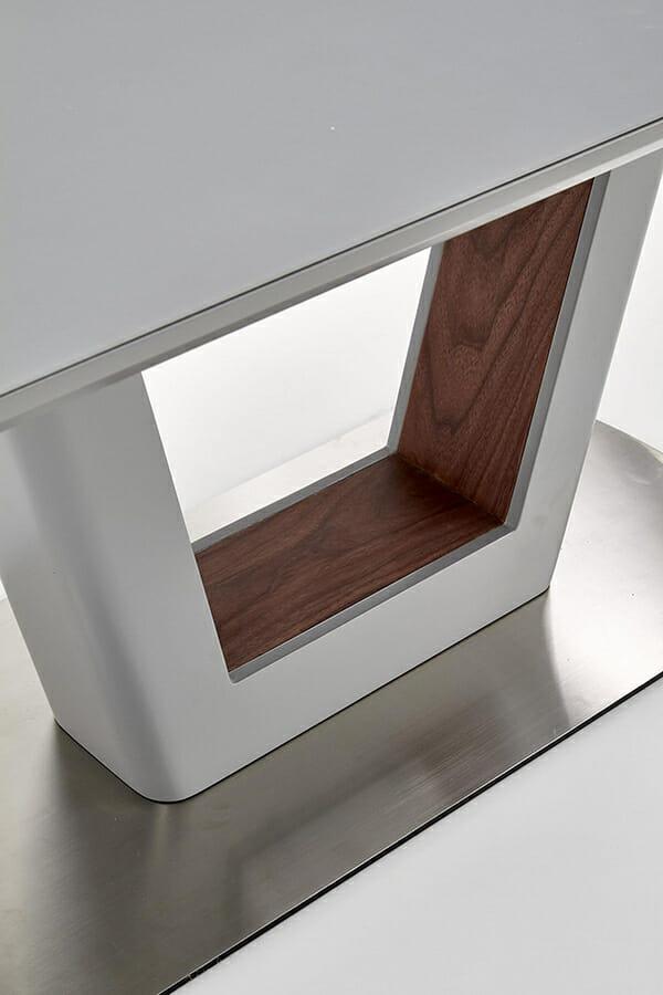 Разтегателна трапезна маса с елегантен дизайн (2 варианта) - корпус