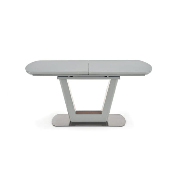 Разтегателна трапезна маса с елегантен дизайн (2 варианта) - изглед отпред