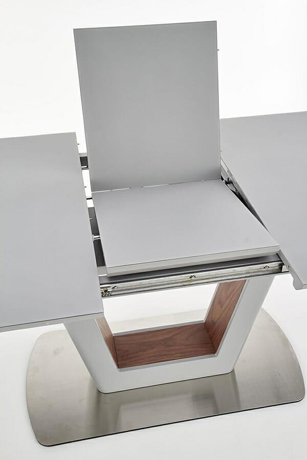 Разтегателна трапезна маса с елегантен дизайн (2 варианта) - разтягане