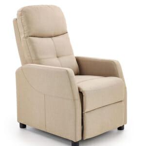 Стилен релакс фотьойл с красива текстилна дамаска (2 цвята)