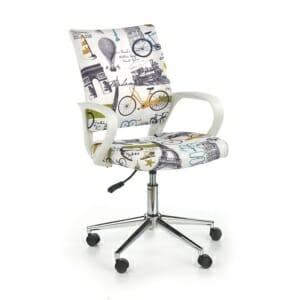 Детски офис стол на колелца за момче и момиче