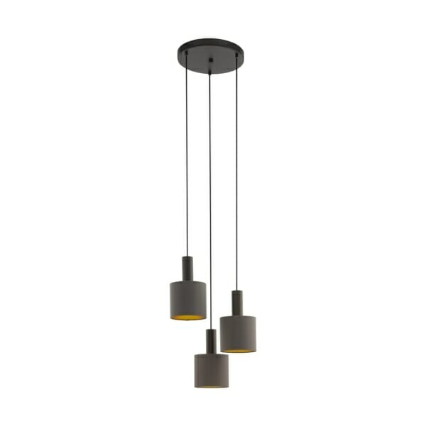 Елегантен полилей в тъмни цветове серия Concessa 1 (2 варианта)