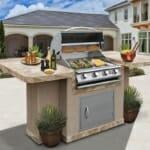 Луксозно газово грил-барбекю за двор