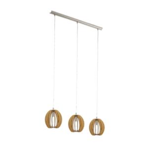 Метален полилей с дървени ламели серия Cossano (5 варианта) - вариант 5