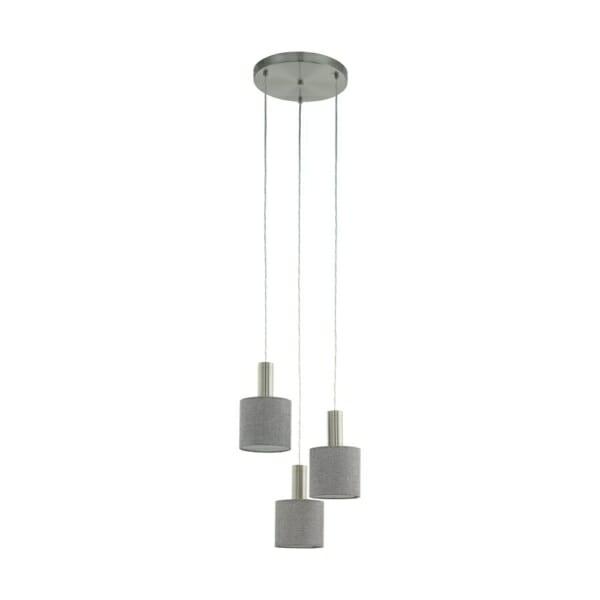 Полилей в сиво и никел мат серия Concessa 2 (2 варианта)