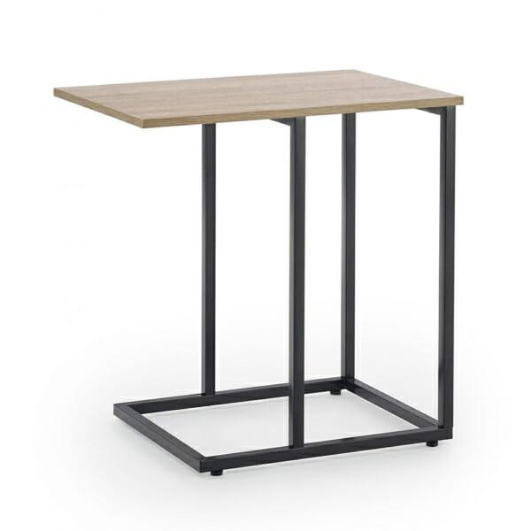 Помощна квадратна маса в индустриален стил серия Narvik