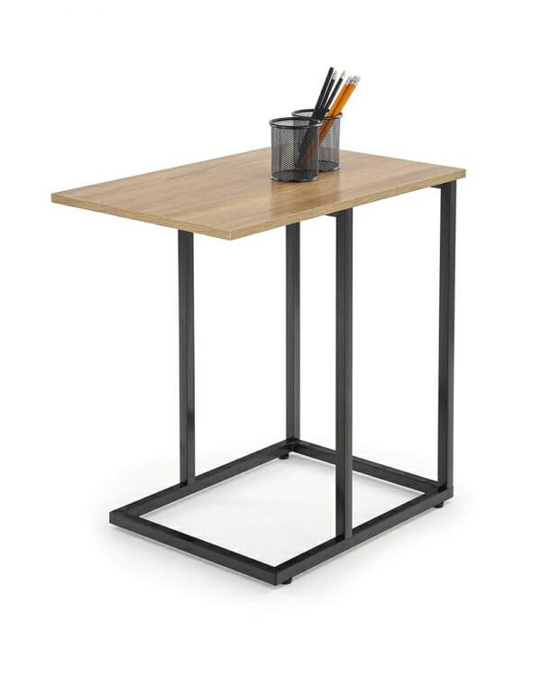 Помощна квадратна маса в индустриален стил серия Narvik-декорация